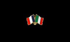 Spilla dell'amicizia Francia - Italia - 22 mm