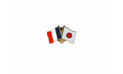 Spilla dell'amicizia Francia - Giappone - 22 mm