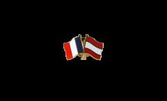 Spilla dell'amicizia Francia - Austria - 22 mm