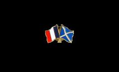 Spilla dell'amicizia Francia - Scozia - 22 mm