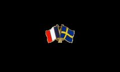 Spilla dell'amicizia Francia - Svezia - 22 mm