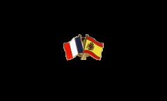 Spilla dell'amicizia Francia - Spagna - 22 mm