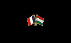 Spilla dell'amicizia Francia - Ungheria - 22 mm