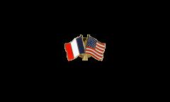 Spilla dell'amicizia Francia - USA - 22 mm