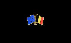 Spilla dell'amicizia Europa - Belgio - 22 mm