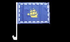 Bandiera per auto Canada Quebec città - 30 x 40 cm