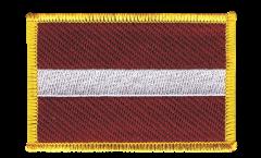 Applicazione Lettonia - 8 x 6 cm