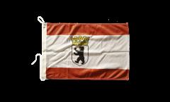 Bandiera da barca Germania Berlino con corona - 30 x 40 cm