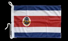 Bandiera da barca Costa Rica - 30 x 40 cm