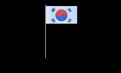 Bandiera di Carta Corea del sud - 12 x 24 cm