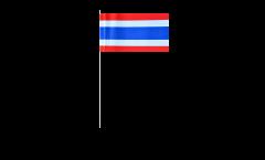Bandiera di Carta Tailandia - 12 x 24 cm