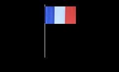 Bandiera di Carta Francia - 12 x 24 cm