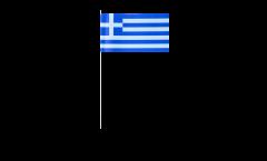 Bandiera di Carta Grecia - 12 x 24 cm