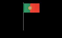 Bandiera di Carta Portogallo - 12 x 24 cm