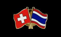 Spilla dell'amicizia Svizzera - Tailandia - 22 mm