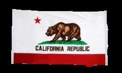 Bandiera da balcone USA California - 90 x 150 cm