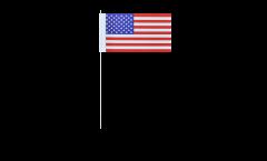 Bandiera di Carta USA - 12 x 24 cm