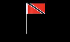 Bandiera di Carta Trinidad e Tobago - 12 x 24 cm