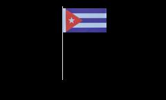 Bandiera di Carta Cuba - 12 x 24 cm