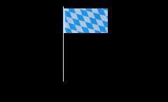 Bandiera di Carta Germania Baviera senza stemmi - 12 x 24 cm
