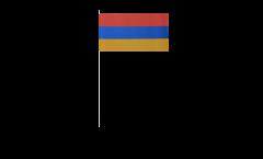 Bandiera di Carta Armenia - 12 x 24 cm