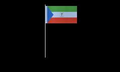 Bandiera di Carta Guinea equatoriale - 12 x 24 cm