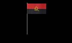 Bandiera di Carta Angola - 12 x 24 cm