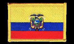 Applicazione Ecuador - 8 x 6 cm