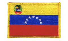 Applicazione Venezuela 7 Stelle con stemma 1930-2006 - 8 x 6 cm