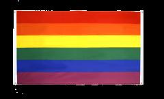 Bandiera da balcone Arcobaleno - 90 x 150 cm