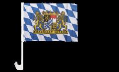 Bandiera per auto Germania Baviera Freistaat Bayern - 30 x 40 cm