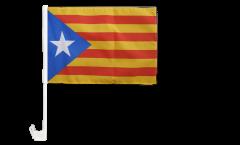 Bandiera per auto Estelada blava Catalogna - 30 x 40 cm