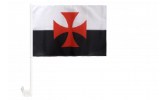 Bandiera per auto Crociata - 30 x 40 cm
