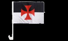 Bandiera per auto Templari - 30 x 40 cm