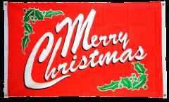 Bandiera da balcone Merry Christmas - 90 x 150 cm