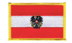 Applicazione Austria con aquila - 8 x 6 cm