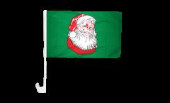 Bandiera per auto Babbo Natale - 30 x 40 cm