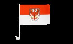 Bandiera per auto Germania Brandeburgo - 30 x 40 cm