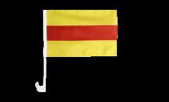 Bandiera per auto Germania Baden senza stemmi - 30 x 40 cm