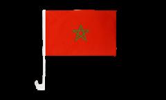 Bandiera per auto Marocco - 30 x 40 cm