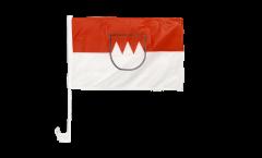 Bandiera per auto Germania Franconia - 30 x 40 cm