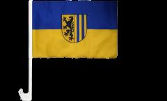 Bandiera per auto Germania Leipzig Lipsia - 30 x 40 cm