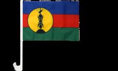 Bandiera per auto Francia Nuova Caledonia Kanaky - 30 x 40 cm