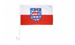 Bandiera per auto Germania Turingia - 30 x 40 cm