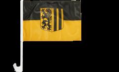 Bandiera per auto Germania Dresda - 30 x 40 cm