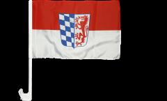 Bandiera per auto Germania Bassa Baviera - 30 x 40 cm