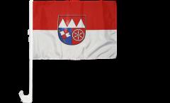 Bandiera per auto Germania Bassa Franconia - 30 x 40 cm