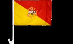 Bandiera per auto Italia Sicilia - 30 x 40 cm