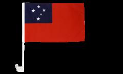 Bandiera per auto Samoa - 30 x 40 cm