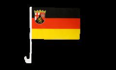Bandiera per auto Germania Renania Palatinato - 30 x 40 cm